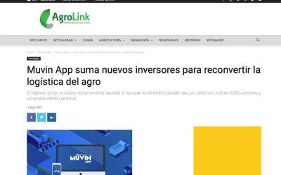 Muvin App suma nuevos inversores para reconvertir la logística del agro