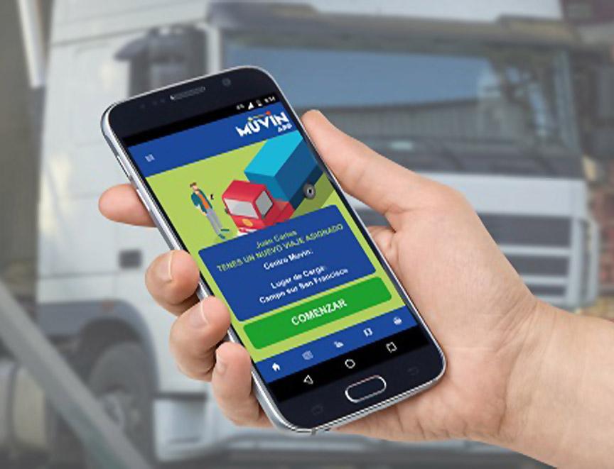 Muvin App presentará propuesta de logística 360º para el transporte de granos.
